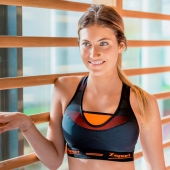 Brassière Zsport Virtuosity - Couleur : Orange - Image N° 2
