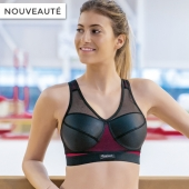 Brassière Fitline Vitality - Couleur : Framboise - Image N° 1 }}