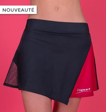Jupe-short de running - Couleur : Framboise