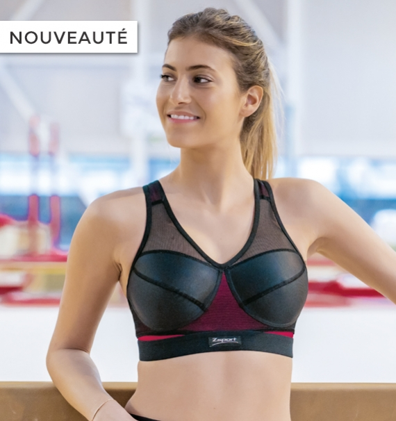 Brassière Fitline Vitality - Couleur : Framboise